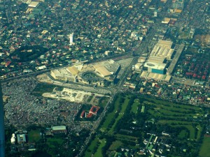 TriNoma from above
